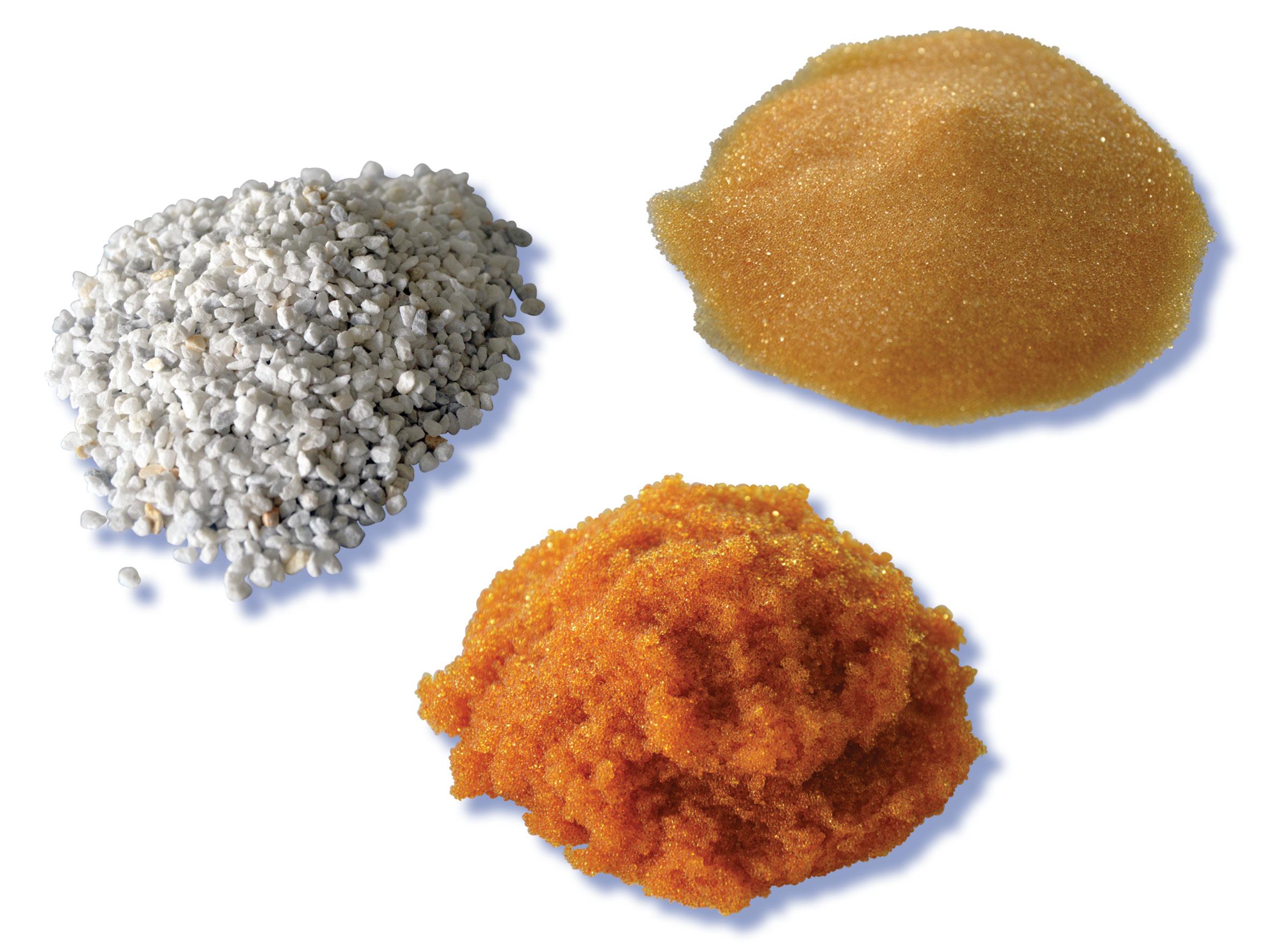 Sali polifosfati Resine